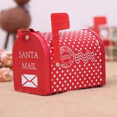 Kerstmis vrolijk kerstfeest Cadeau tas Metaal Candy Jars