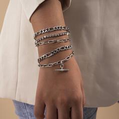 met Vergulde Vrouwen Dames Armbanden 6 STUKS
