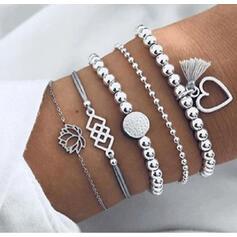 Stijlvol Charme Valentijnsdag Legering Vrouwen Dames Armbanden (Set van 5 paren)
