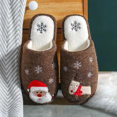 Vrouwen Suede Flat Heel Flats Ronde neus met Kralen schoenen