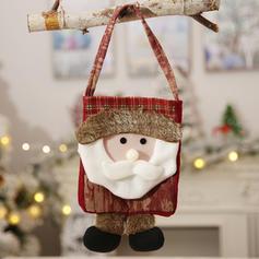 Kerstmis vrolijk kerstfeest Rendier de kerstman opknoping Doek Apple Tassen Kerstsok Snoepzakken