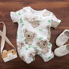 baby Print Katoen Badpakken