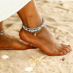 In de mode Koel Legering Strand sieraden Enkelbanden
