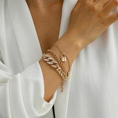 Sexy Charme Artistieke met Strass Vergulde Vrouwen Dames Armbanden 1 PC