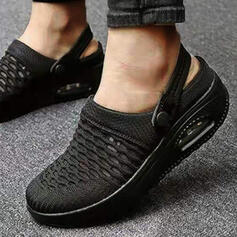 Vrouwen Mesh Flat Heel Flats Aantrekken met Hol-out schoenen