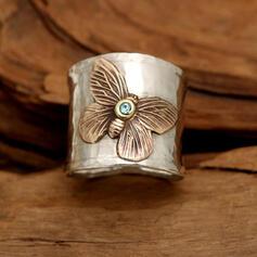 Wijnoogst Butterfly Legering Vrouwen Ringen