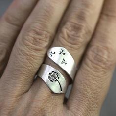 Aantrekkelijk Charme Elegant Artistieke Delicaat Legering met Minimalistisch Dames Ringen