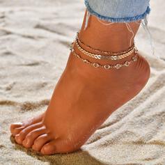 Uniek Legering Strand sieraden Enkelbanden (Set van 3)