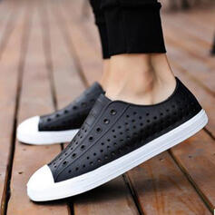 Vrouwen EVA Flat Heel Flats Ronde neus Dans Sneakers Aantrekken met Effen kleur schoenen