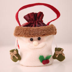 Kerstmis vrolijk kerstfeest Sneeuwman Rendier de kerstman opknoping Cadeau tas Niet-geweven stof Apple Tassen Snoepzakken