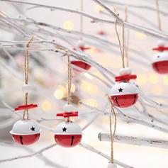 Kerstmis vrolijk kerstfeest opknoping Metaal Boom hangende ornamenten Kerst Ornements Christmas Bell