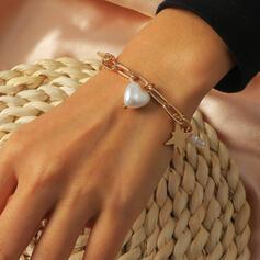 Schakelketting Sterren Kerstmis Plastische Ijzer Vrouwen Armbanden