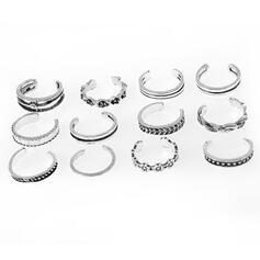 In de mode Klassiek Charme Artistieke Delicaat Legering met Minimalistisch Vrouwen Ringen