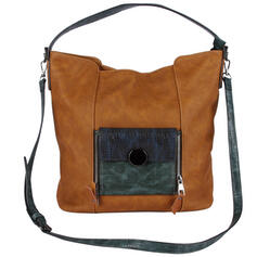In de mode/Splice kleur Tote tassen/Crossbody Tassen