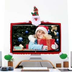 Kerstmis vrolijk kerstfeest Sneeuwman Rendier de kerstman Niet-geweven stof Kerst Ornements