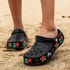 Vrouwen PU Flat Heel Sandalen Closed Toe Slippers met Van Toepassing Hol-out schoenen