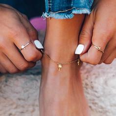 Eenvoudig Fruit Legering Vrouwen Strand sieraden Enkelbanden