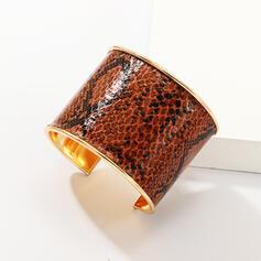 In de mode Leopard Metaal Vrouwen Dames Armbanden