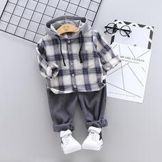 2 stuks babymeisje met capuchon Plaid Katoen Setformaat