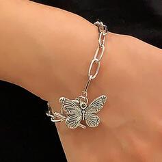 In de mode Wijnoogst Legering met Butterfly Vrouwen Dames Armbanden 1 PC
