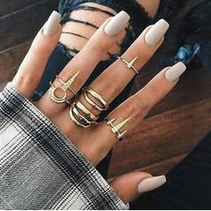 Exotisch Romantische Legering Vrouwen Ringen 6 STUKS