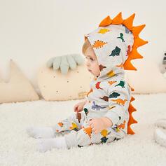 babymeisje Dinosaur Dier Katoen Badpakken