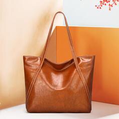 Effen kleur/Super handig Tote tassen