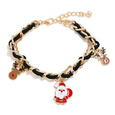 Rendier van Kerstmis Kerstmis Kerstmis Kerstman Legering Armbanden