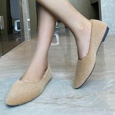 Vrouwen Suede Flat Heel Flats met Effen kleur schoenen