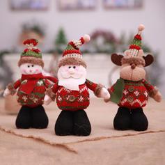 Kerstmis vrolijk kerstfeest Sneeuwman Rendier de kerstman Niet-geweven stof Apple Tassen
