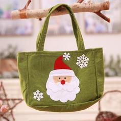Kerstmis vrolijk kerstfeest Sneeuwman Rendier de kerstman Cadeau tas Niet-geweven stof Apple Tassen Snoepzakken