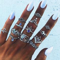 Exotisch Boho Legering Ringen Strand sieraden (set van 13)