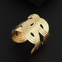 Klassiek Elegant Metaal Vrouwen Dames Armbanden