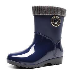 Rubber Low Heel Regenlaarzen schoenen