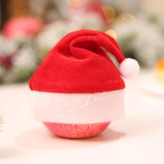 Kerstmis vrolijk kerstfeest Doek Kerst hoeden Apple Tassen