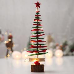 Kerstmis vrolijk kerstfeest Tafelblad Niet-geweven stof Kerstboom