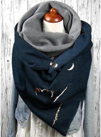 Effen kleur/Dier aantrekkelijk/mode Sjaal