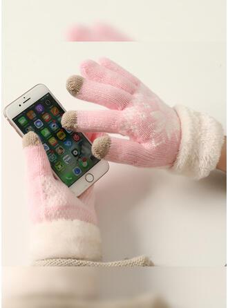 Hechten/Kerstmis-/grafische prints eenvoudig/Koud weer/Kerstmis handschoenen