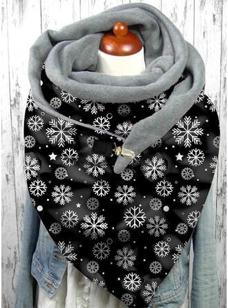 Bloemen/Kerstmis- mode/Kerstmis Sjaal