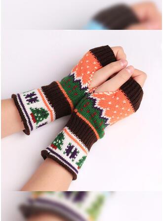 Kerstmis-/grafische prints vers/Kleurrijk handschoenen