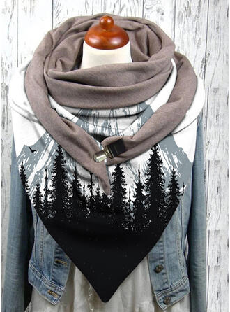 grafische prints te groot/mode/Comfortabel Sjaal