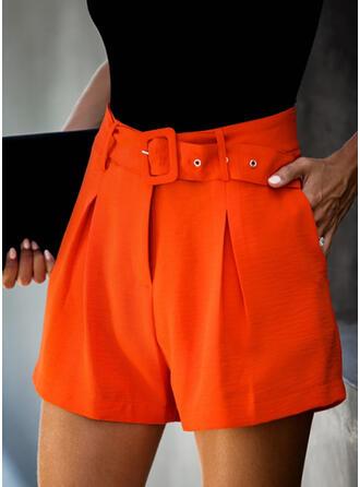 Solide Elegant Wijnoogst Shorts