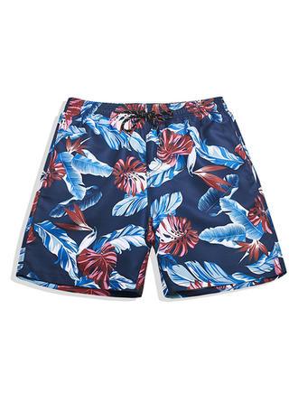 Heren bekleed Hawaiiaans Board Shorts
