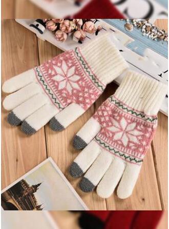 Bloemen/Kerstmis- Beschermend/Volledige dekking/Vingers handschoenen