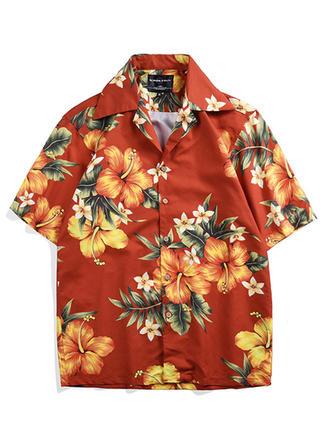 Heren Hawaiiaans Strand shirts