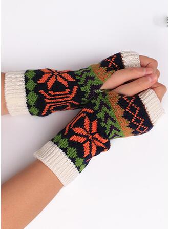 Bloemen/Print Ademend/vrouwen/Kerstmis handschoenen