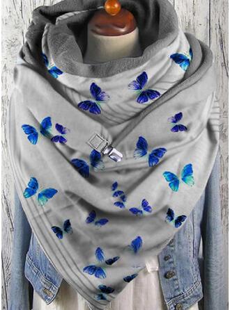 Dier mode/Ontwerp van de Vlinder Sjaal