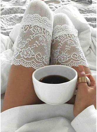 Effen kleur Warme/Comfortabel/vrouwen/Knie hoge sokken Sokken/kousen
