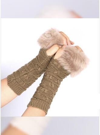 Gestreept/Retro /Wijnoogst eenvoudig/Koud weer handschoenen