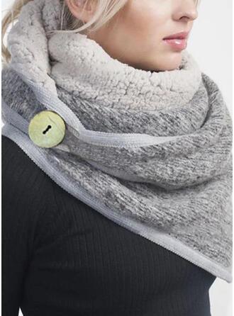 Effen kleur lichtgewicht/mode/Warme Sjaal